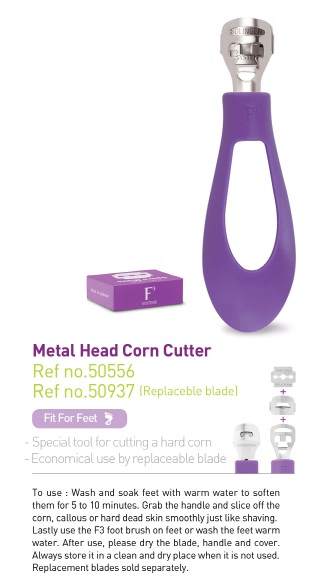 METAL HEAD CORN CUTTER