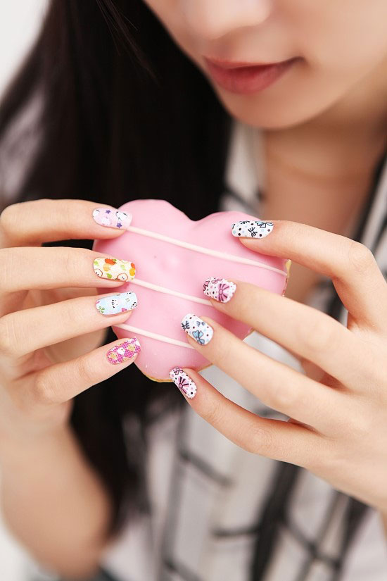 "Nail sticker ""Miss bling\"""