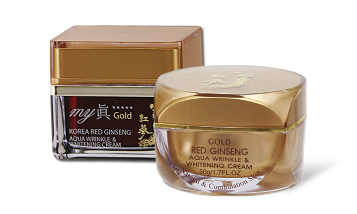GOLD MY JIN Aqua Wrinkle & Whitening Cream