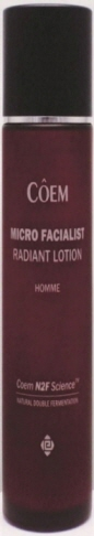 MICRO FACIALIST-RADIANT LOTION HOMME