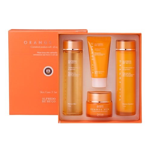 Skin care set, toner, emulsion, cream, Ora...