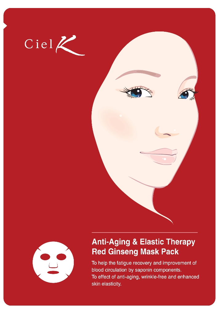CielK Red Ginseng Mask Pack