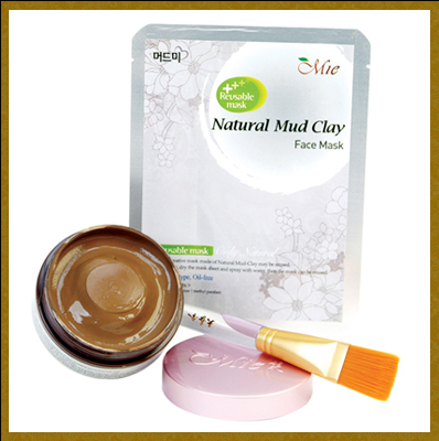 Natural Mud face mask pack