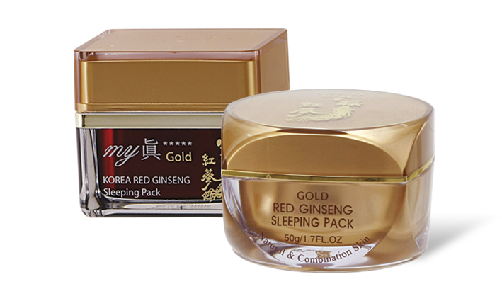 Gold MY JIN Korea Red Ginseng Sleeping Pac...