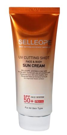 Selleope UV CUTTING SHOT SUN CREAM SPF50+ ...