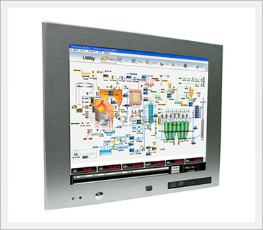 17 inch Fanless Touch Screen Panel PC (NTP...