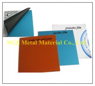 Photoengraving Zinc Plate (Coated Zinc Pla...