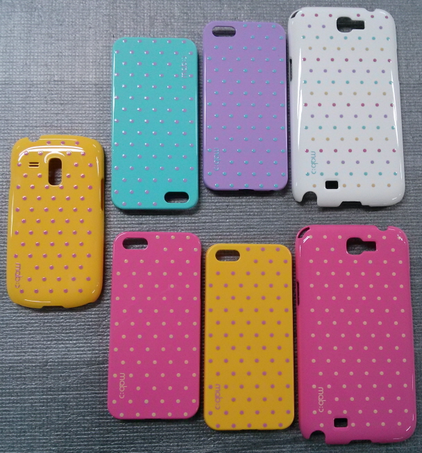 Printed smart phone case