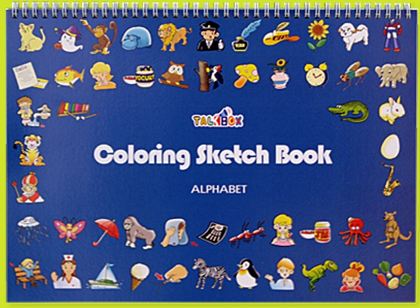 15.My First Talking Coloring Sketch Book  Made in Korea
