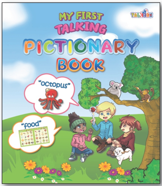 6. My First Talking Pictionary Book-for ki...