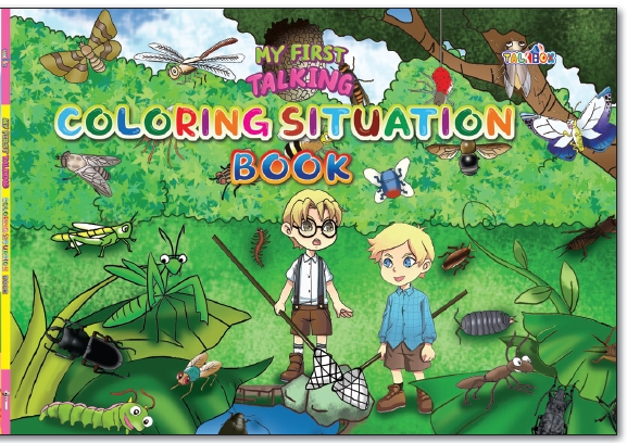 9.My First Talking Coloring Situation Book...