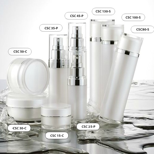 Cosmetic packaging: C series