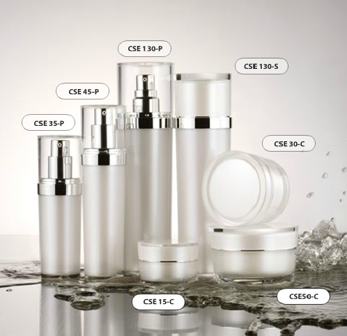 Cosmetic packaging: E-1 series