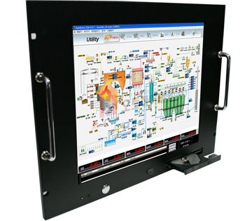 "17 inch Touch Screen Panel PC _ 19"" Rackmo..."