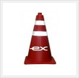 PE Rubber Cone  Made in Korea