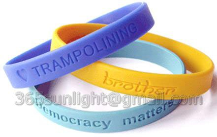 Silicon Wristbands (HS33S)  Made in Korea