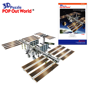 3D Puzzle International Space Station