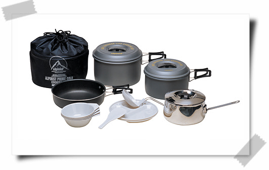Prime Gold Cookset for 4-5 Persons