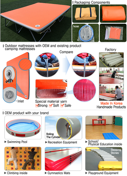 Camping outdoor sports airmattress and oth...
