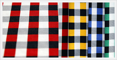 Polyester Knitted Span Check Fabrics