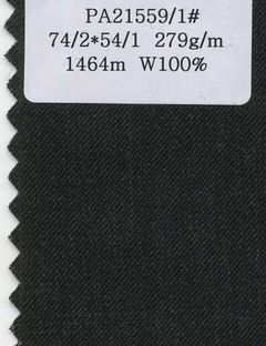 pure wool serge worsted suiting fabric  Made in Korea