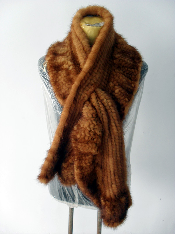 mink scarf  Made in Korea