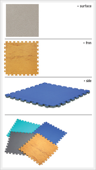 Hard Floor Mat  Made in Korea