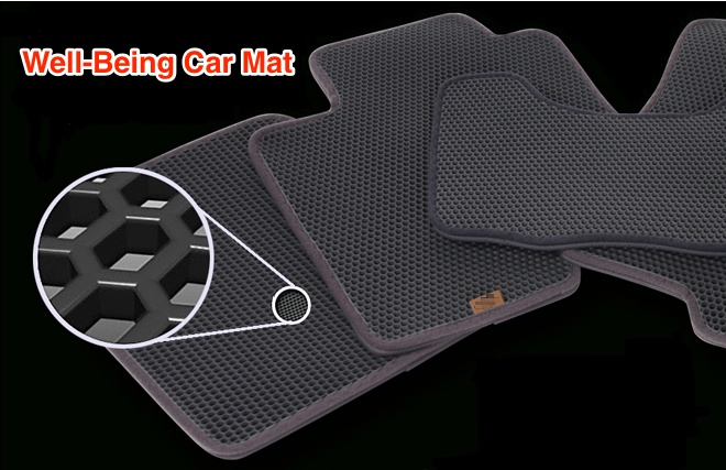 Well-Being Car Mat  Made in Korea