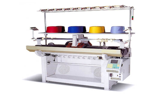 Flat knitting machine  Made in Korea