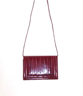 eelskin leather bag  Made in Korea