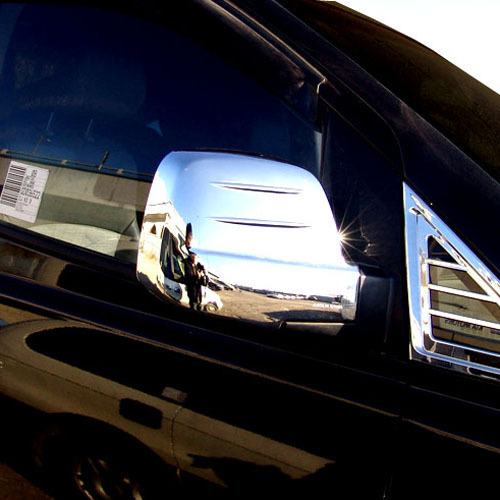 2007 ~ H1 Side Mirror Chrome Cover