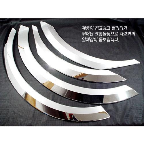 2006 ~ ACTYON Chrome Fender Molding  Made in Korea