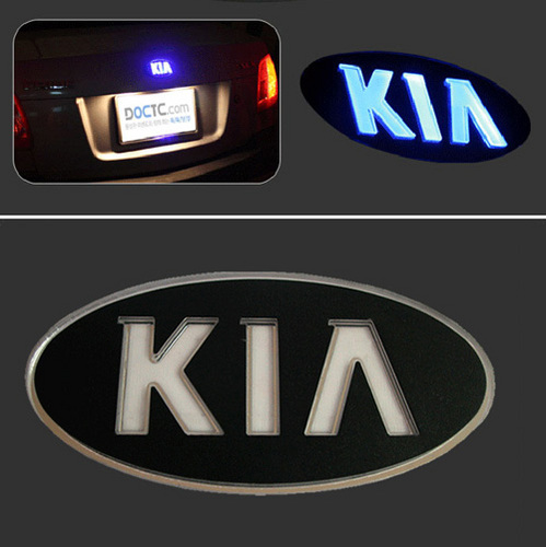 OPTIMA LED Emblem KIA