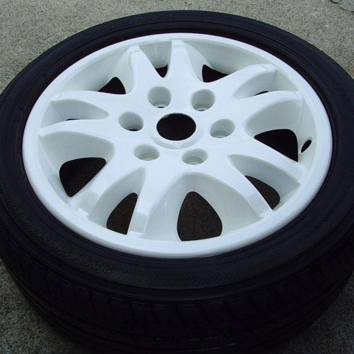 SEDONA 2006 ~ White Wheel Cover