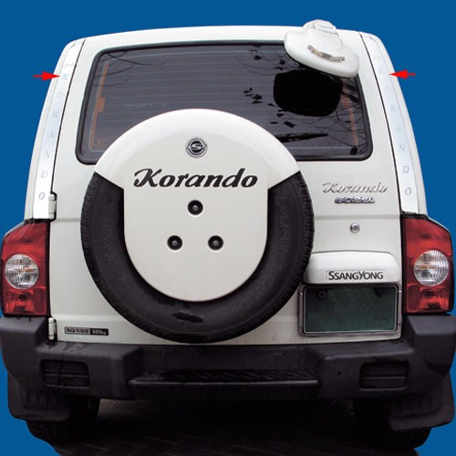 KORANDO Rear Pillar Molding