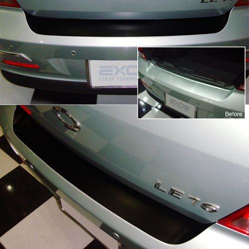07 SM 3 ~ 2009 Bumper Protecter Sticker  Made in Korea