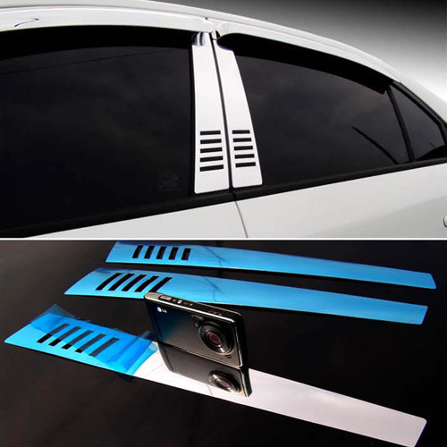 Elantra Chrome B Pillar Molding