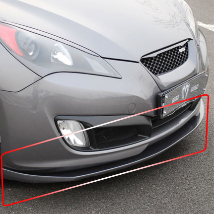 Genesis Coupe Front Wing Parts