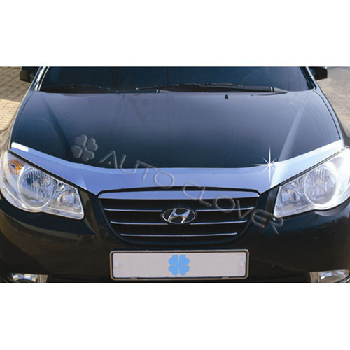 2007 ~ ELANTRA Chrome Hood Guard