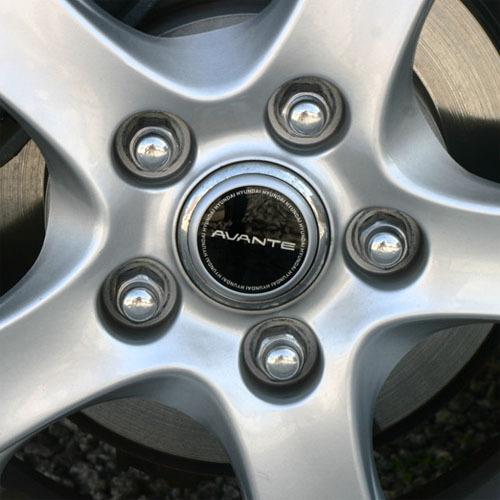 2007 ~ ELANTRA Wheel Emblem
