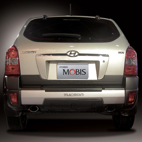TUCSON Rear Bumper Guard - S type
