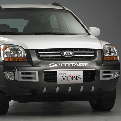 SPORTAGE ~ 2007 Front Bumper Guard - G type
