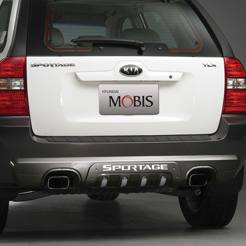 SPORTAGE ~ 2007 Rear Bumper Guard - G type