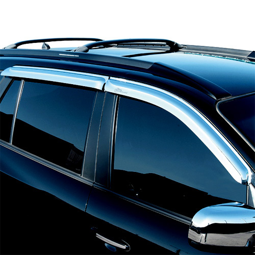 2006 ~ SANTAFE Chrome Window Visor