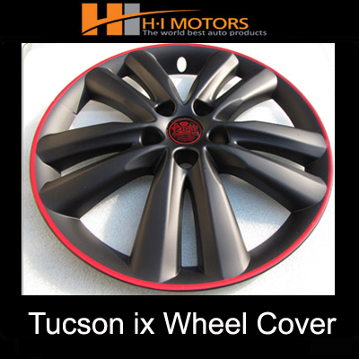 [ Tucson IX auto parts ] 18 inch wheel cover molding black matt