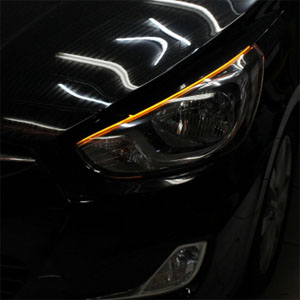 [ Accent 2011~ auto parts ] Accent LED eye line 1way, 2way  Made in Korea