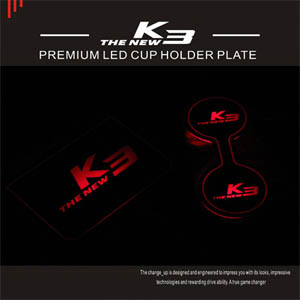 [ All New Cerato K3 auto parts ] All New Cerato K3 LED Cup Holder Plate