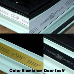 [ Tucson 2016 auto parts ] All New Tuscon2016 Color Aluminium Door Scuff