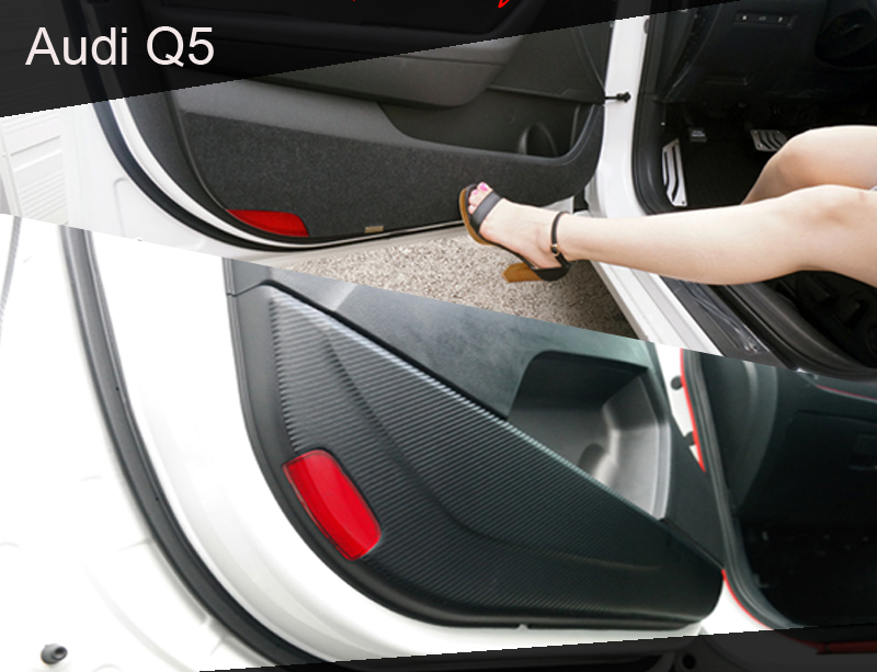 [ Audi Q5 auto parts ] Audi Q5 Carbon & Felt Door Cover
