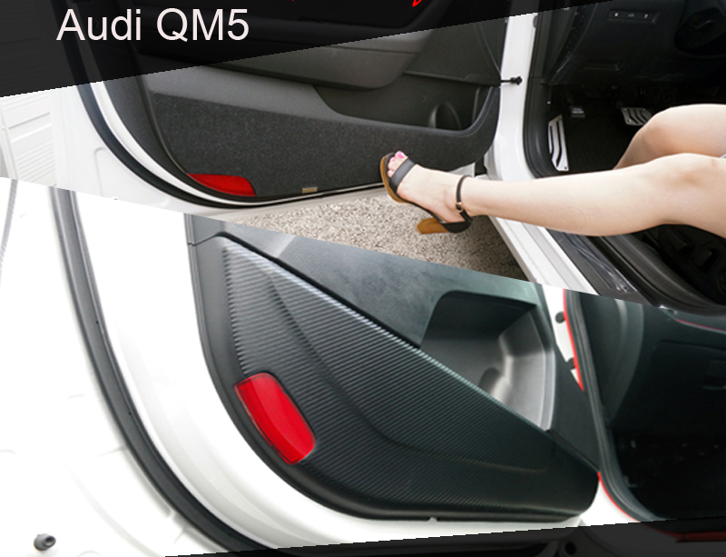 [ Audi QM5 auto parts ] Audi QM5 Carbon & Felt Door Cover